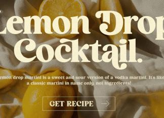 HV Cocktail Font