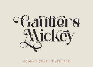 Gautters Mickey Font
