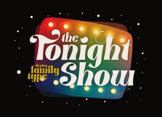 Tonight Show Font
