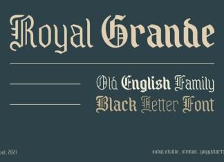 Royal Grande Font
