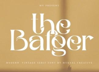 The Bafger Font
