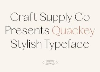 Quackey Font