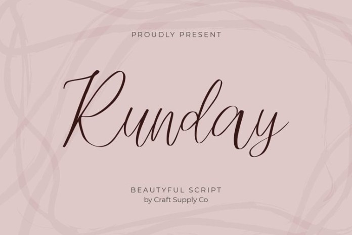 Runday Font