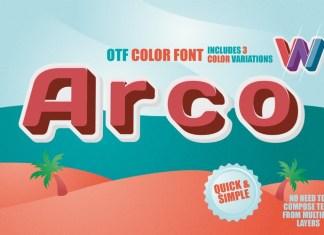 Arco Font