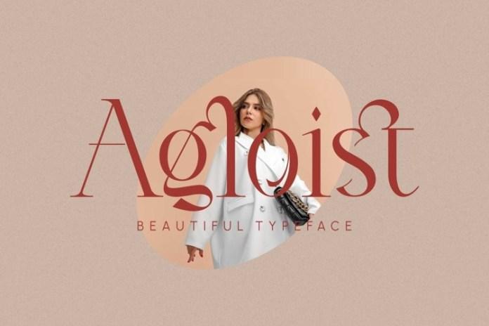 Agloist Font