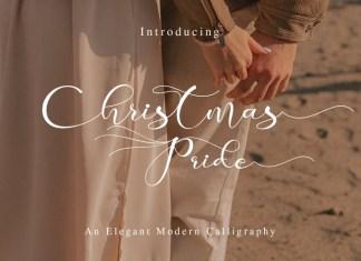 Christmas Pride Font
