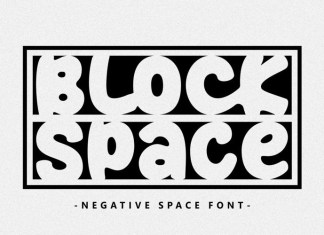 Block Space Font
