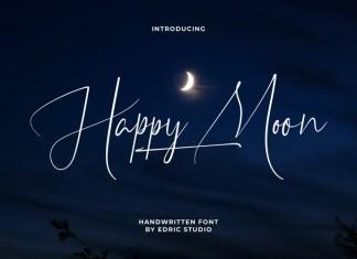 Happy Moon Font