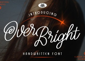 Over Bright Font