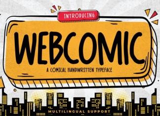 Webcomic Font