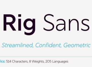 Rig Sans Font