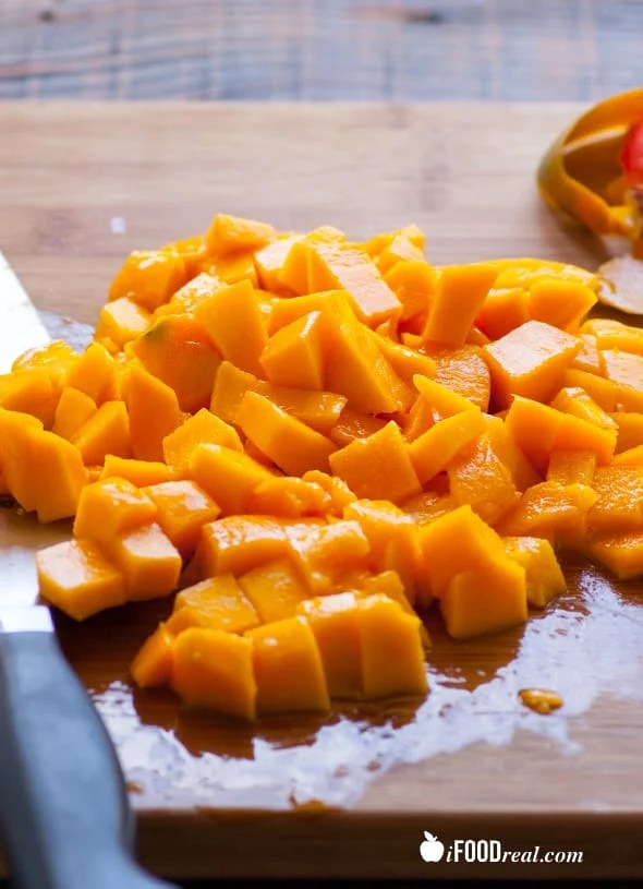 Mango Black Bean Salad IFOODreal Healthy Family Recipes
