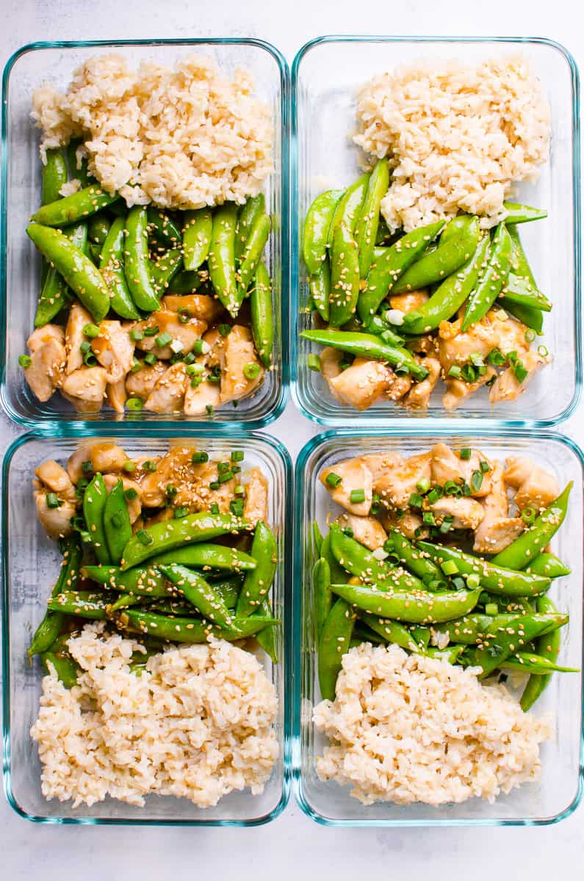 Teriyaki Chicken Meal Prep - iFOODreal - Healthy Family ...