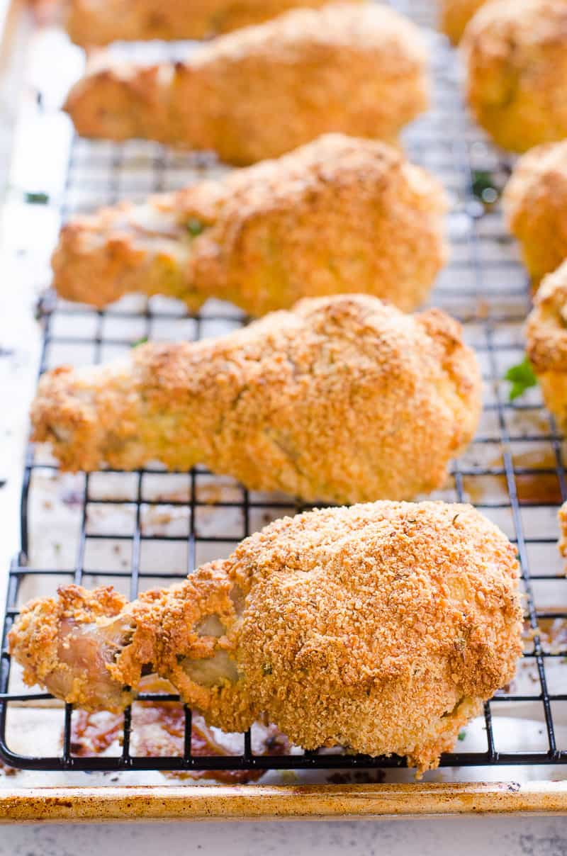 Easy Healthy Oven Fried Chicken - iFOODreal