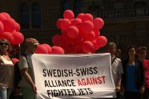 Schwedisch-Schweizerische Allianz gegen neue Kampfjets