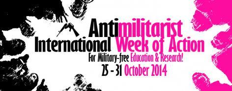 Aktionswoche für militärfreie Bildung und Forschung