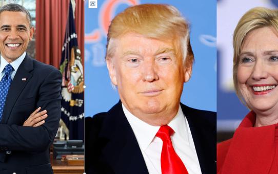 Wird es nach Obama unter Trump oder unter Clinton besser ?