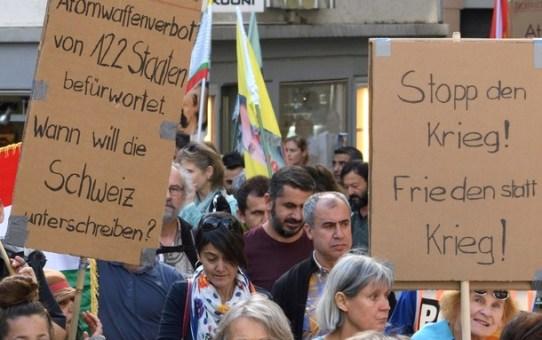 Video zur Friedenskundgebung am 22. September 2018  in St. Gallen