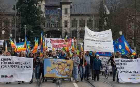 Ostermarsch Bern: Frieden statt Krieg exportieren!