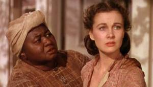 """VIVIEN LEIGH and HATTIE McDANIEL in """"Gone With the Wind"""" (1939)"""