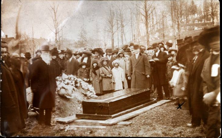 101 years ago (March 2014) Harriet Tubman passed away. Her funeral. She is buried in Auburn, NY.