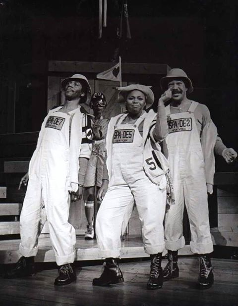 """""""But Never Jam Today"""" Cleavant Derricks, Sheila Ellis and Jai Oscar St. John. But Never Jam Today was a 1979 musical with music by Bert Keyes & Bob Larimer, lyrics by Larimer, and a book by both Larimer and Vinnette Carroll. The musical is based on the works of Lewis Carroll."""