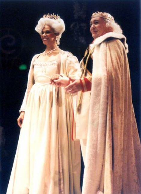 """The King & Queen """"CINDERELLA"""" Terry Burrell and David Coffee"""