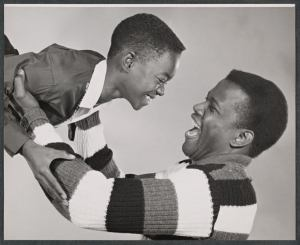 Glynn Turman and Sidney Poitier (Studio Session)