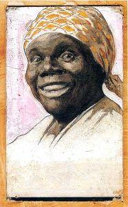 Nancy Green, a former slave, served as the original model for Aunt Jemima