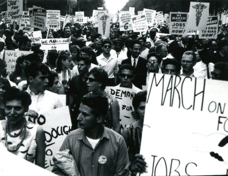 Frank Espada- March on Washington 1