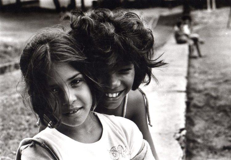Frank Espada- Two Girls Smiling