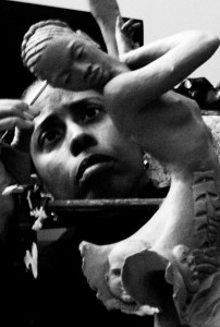 Sculpturist Vinnie Bagwell at Work