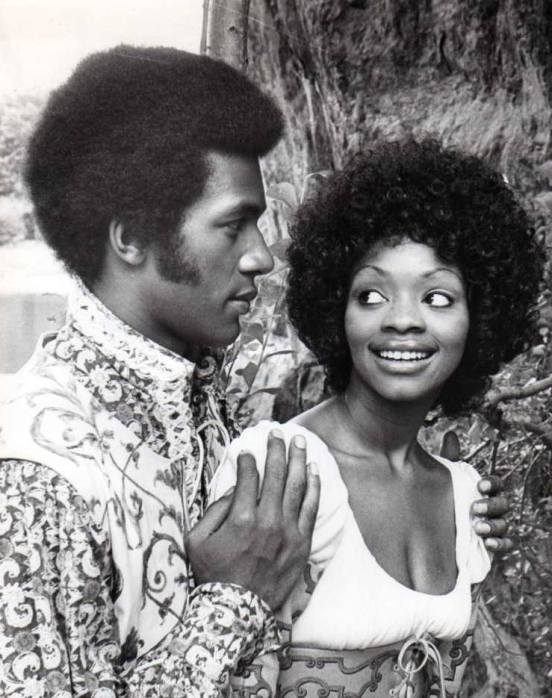 Two Gentlemen of Verona (Central Park, 1971) — with Clifton Davis and Jonelle Allen.