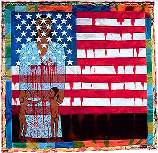 Echoes of Harlem Philip Morris Companies, Inc. Flag Story Quilt Spencer Museum of Art, Lawrence, Kansas Street Story Quilt Metropolitan Museum of Art, New York, New York
