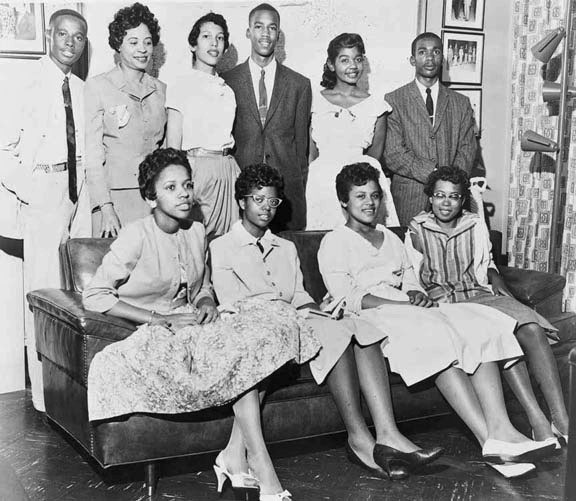 """The Little Rock Nine ~ """"It was supposed to the beginning of a new school year–a season charged with expectation and optimism, not a time to be caught in other people's petty, stale, yet violent wars."""""""