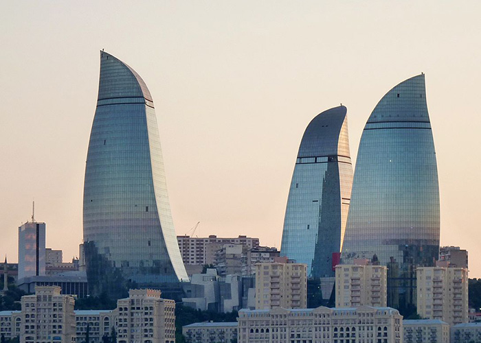 Coating Protects Azerbaijan's Flame Towers
