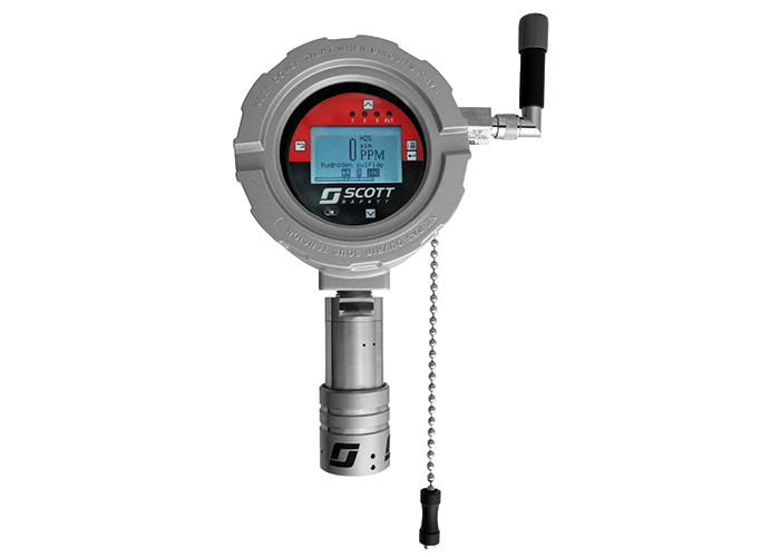 Scott Safety announces the launch of the Meridian Fixed Gas Detector