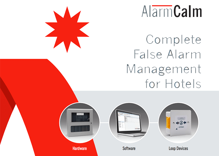 Controlling False Fire Alarms in Hotels with AlarmCalm