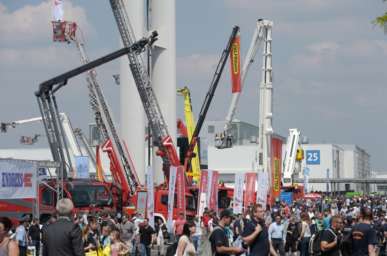 INTERSCHUTZ 2015 reaches new heights