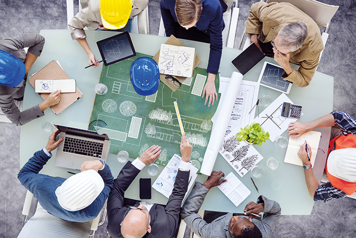 Building design will start with a client vision from which the architect, structural engineer and, increasingly, the fire engineer will need to convert the client's aspirations into a practical design. Image courtesy of ASFP.