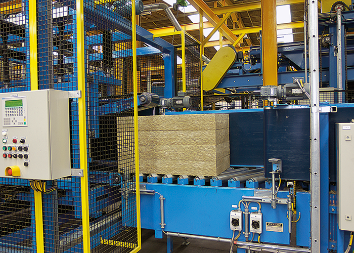 State-of-the-art production facilities. Image courtesy of ROCKWOOL Ltd.