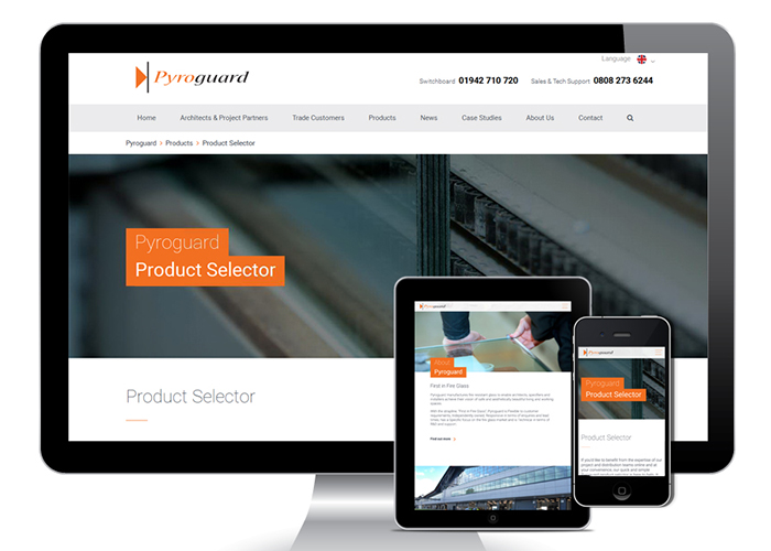New Pyroguard website is 'First in Fire Glass'