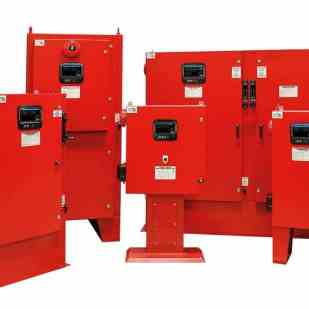 Tornatech Fire Pump Controllers with ViZiTouch V2 operator interface.