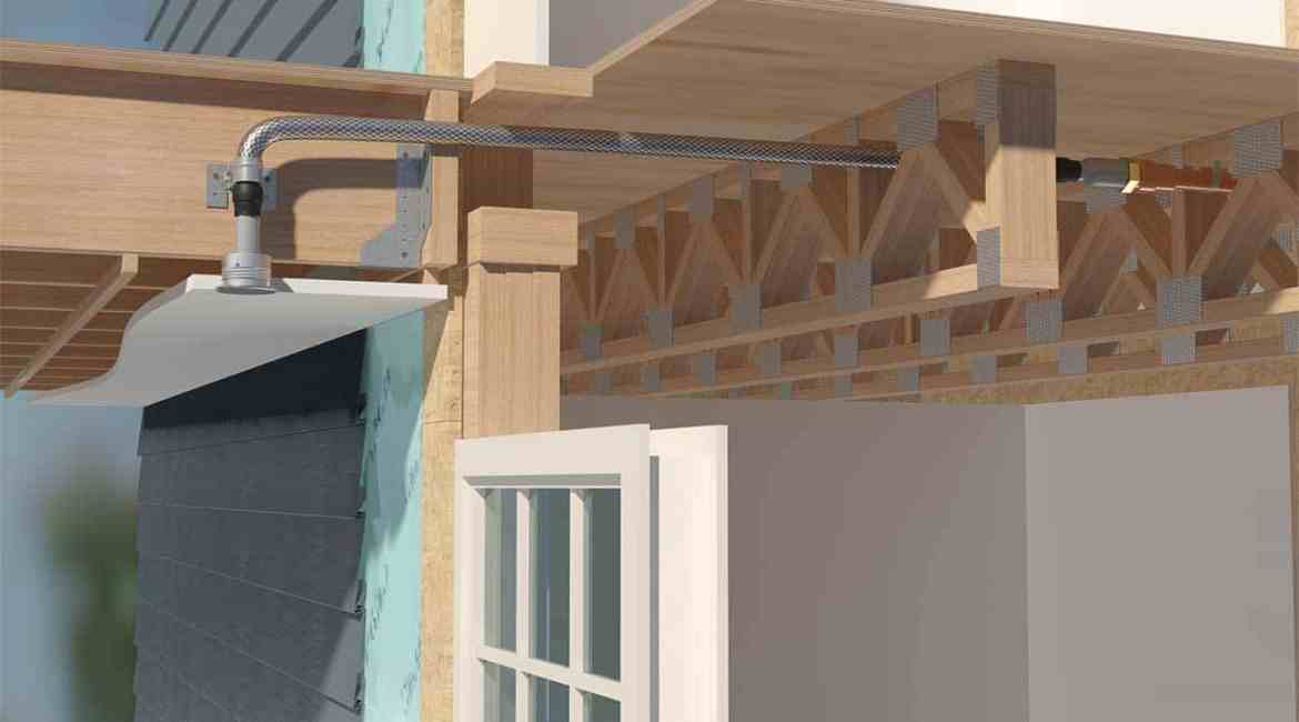 Victaulic's VicFlex Style VS1 eliminates the need for soffits, providing flexibility in design for architects and engineers.