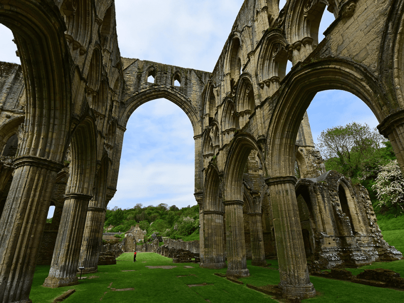 Rievaulx Abbey sings the praises of its new Morley-IAS life safety system