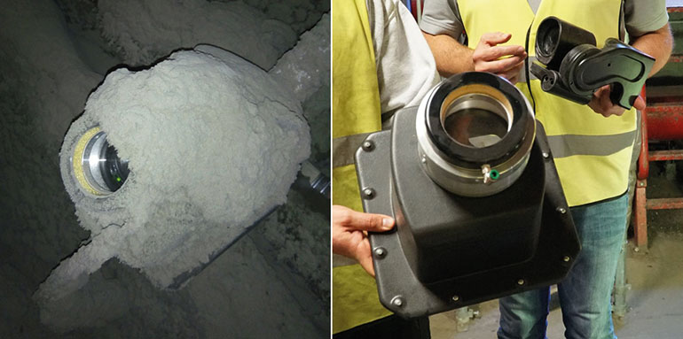 Figure 3: A protective housing and an air shield are effective.Figure 3: A protective housing and an air shield are effective.
