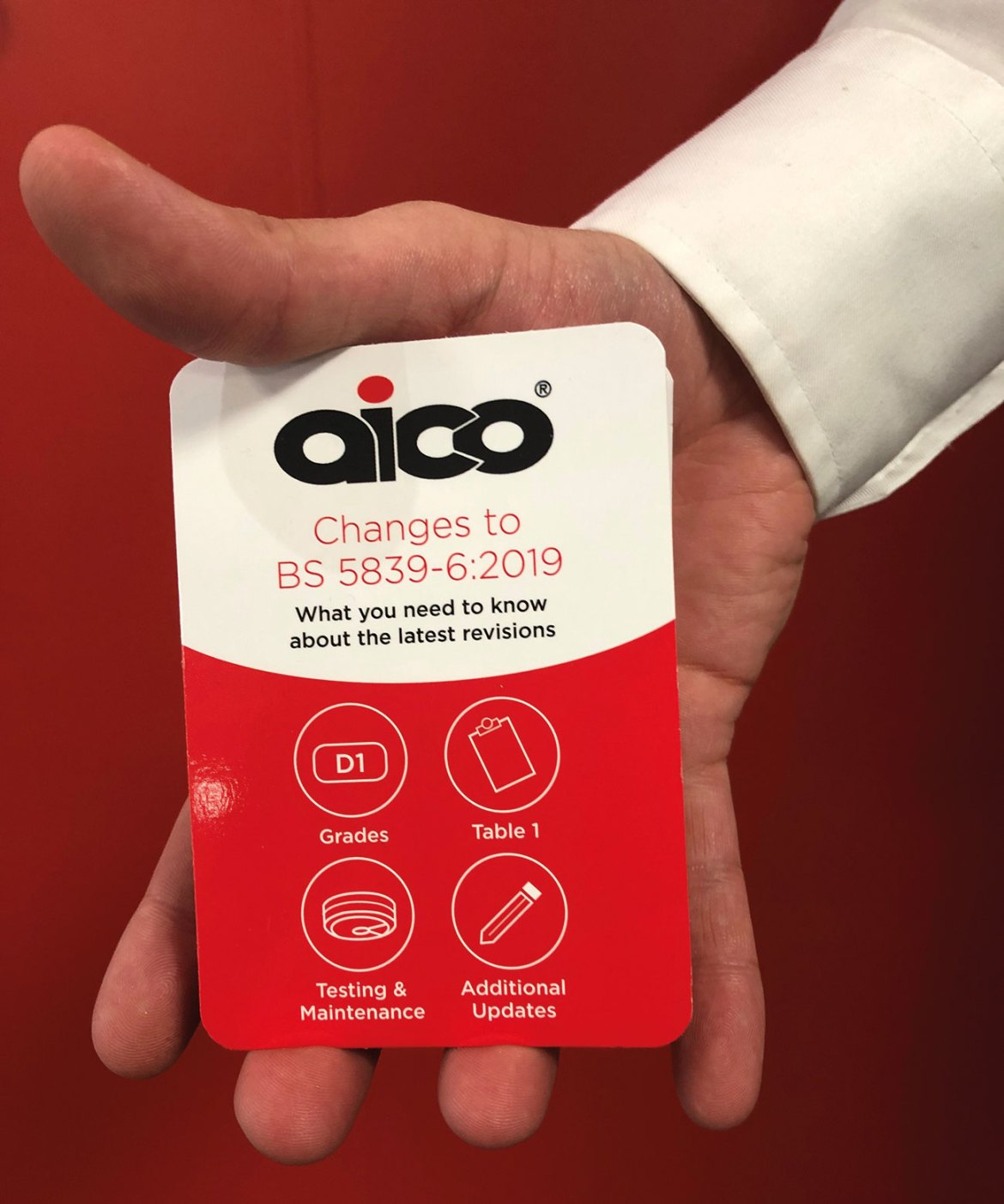 Aico's handy pocket-sized guide on the latest revisions to British Standards.