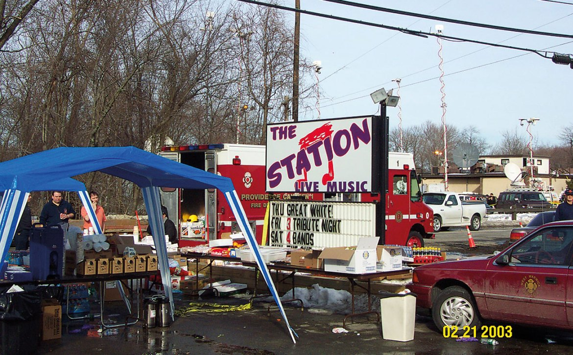 A blaze at The Station nightclub in West Warwick, Rhode Island in February 2003 claimed 100 lives. After the fire, NFPA enacted tough new code provisions for fire sprinklers and crowd management in nightclub-type venues. Those provisions marked sweeping changes to the codes and standards governing safety in assembly occupancies.
