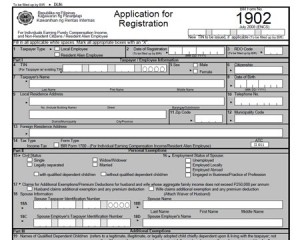 How To Apply For A Taxpayers Identification Number Tin