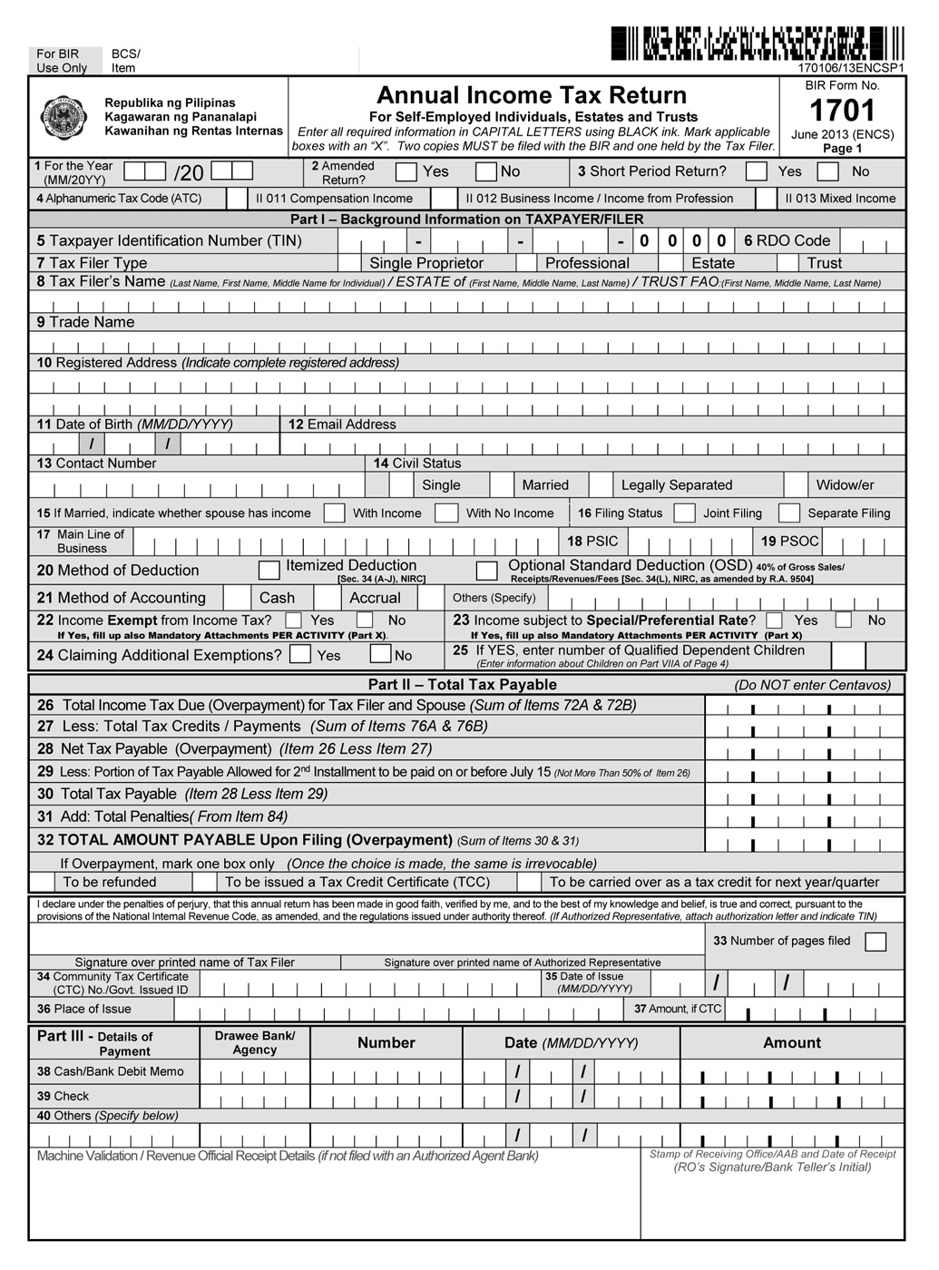 Income Tax Forms Income Tax Forms For Self Employed